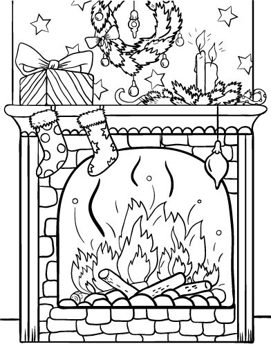 1000 Images About Christmas Coloring Images On Pinterest