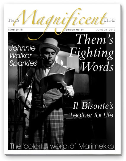 TML issue 64 - read about the MMA fighting poet - www.thismagnificentlife.com