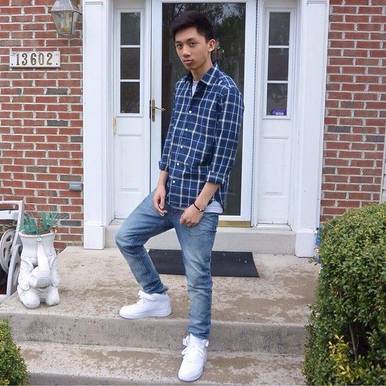 Air force 1 outfit, Mens outfits, Outfits