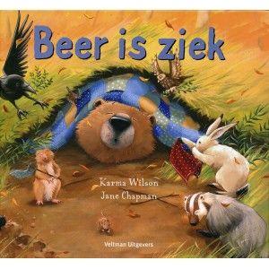 Beer is ziek en zijn vrienden willen hem helpen