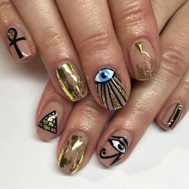 346 Likes, 4 Comments - Sparkle SF Nail Studio (@superflynails) on Instagram - Best 25+ Egyptian Nails Ideas On Pinterest Matte Green Nails