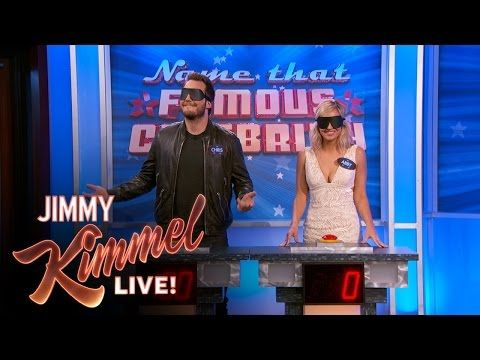Jimmy Kimmel Live: Name That Famous Celebrity - Chris Pratt vs. Abby Elliott