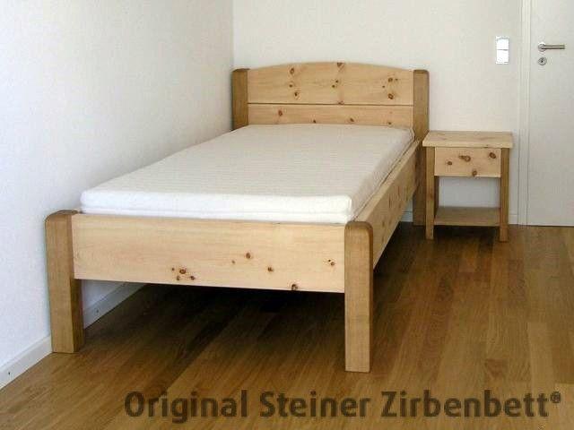 Zirbenbett Breitenstein Massivholzbett Steiner Zirbenbett - schlafzimmer eiche