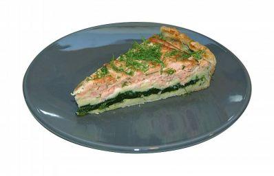 Hartige taart met Spinazie & Kip of st jacobsnootjes - Hartige taart - Recepten - Koopmans.com