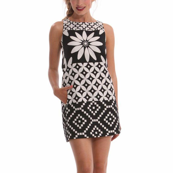 Vestido primavera-verano Desigual 2014  99€ -15% 84,15€  #Spring #elplanetadelasmarcas.es #welovefashion #vestido #dress #casualstyle #desigual #muguruzmujer #perfectlyimperfect