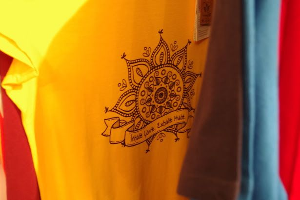 Mandala organic fairtrade t-shirt by Kunda. #tshirts #organictshirts #fairtrade #organiccotton #etsy #etsygreekstreetteam #ethicalfashion #mandala #yoga #india #spirituality #yellow #EtsyGifts