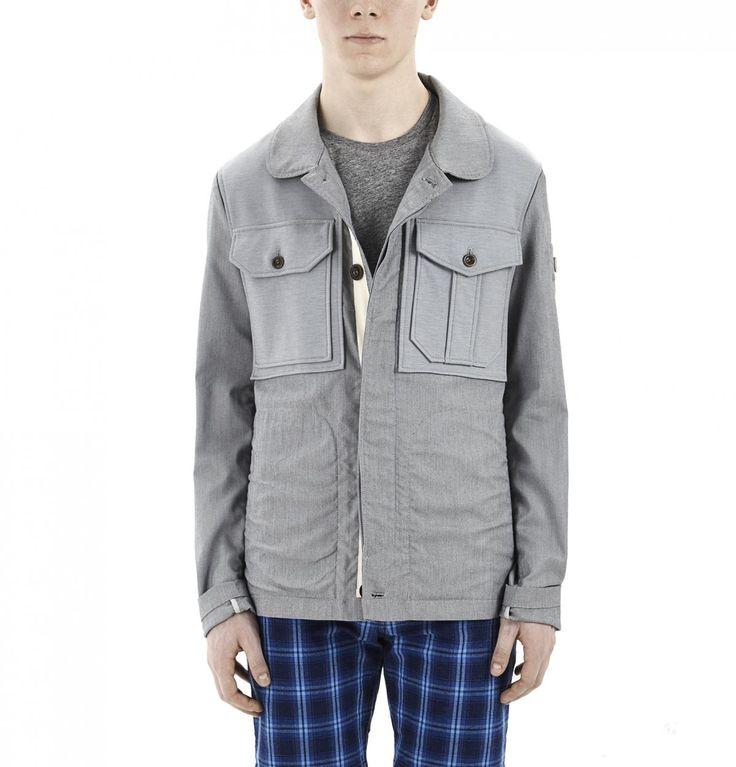 Grey Jacket With Pockets