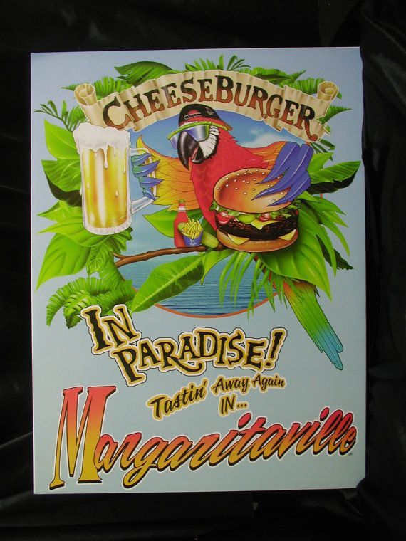 Jimmy Buffett Margaritaville Vintage by CelebrityMemorabilia, $20.00