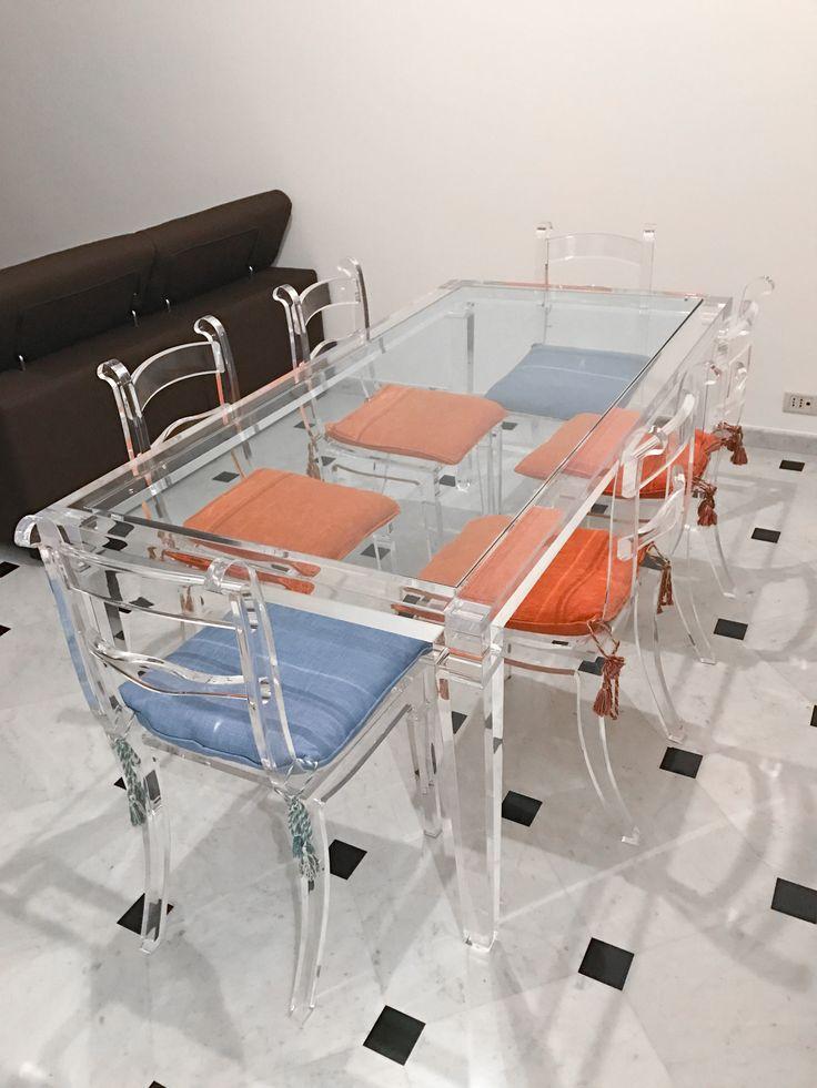 18 best Tavoli in plexiglas images on Pinterest | Dining room tables ...