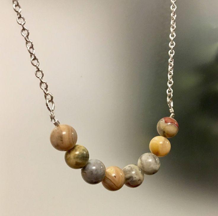 Yellow Jasper Gemstone Necklace https://www.etsy.com/ca/listing/563086272/yellow-jasper-gemstone-necklace