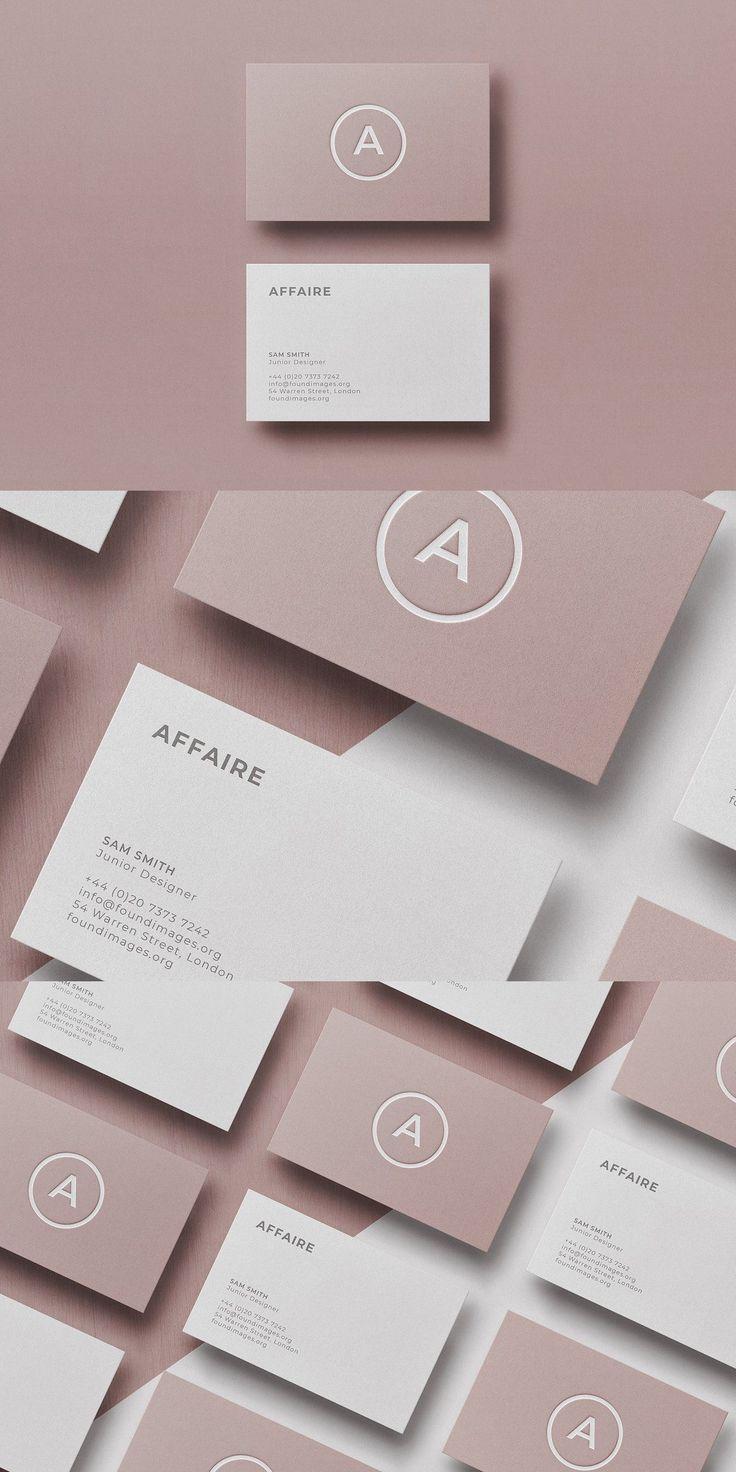 Business Card Template Mock Up Shablony Vizitok Sovremennye Vizitnye Kartochki Vizitki Salona