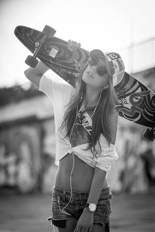 Chicks on boards #longboard