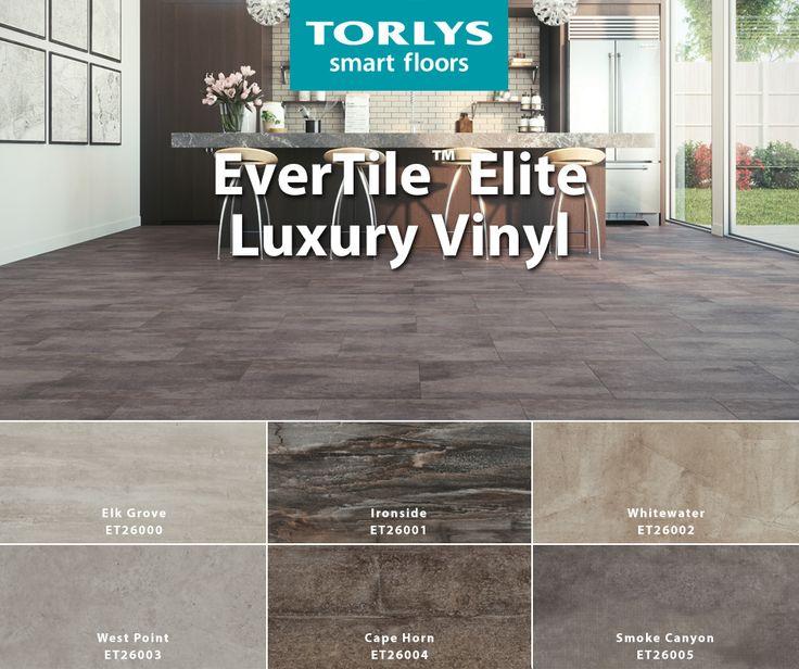 2019 Vinyl Flooring Trends: Pin By TORLYS Floors On EverTile By TORLYS In 2019