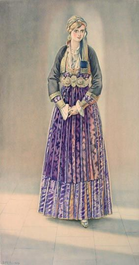 #46 - Peasant Woman's Dress (Macedonia, Naoussa)
