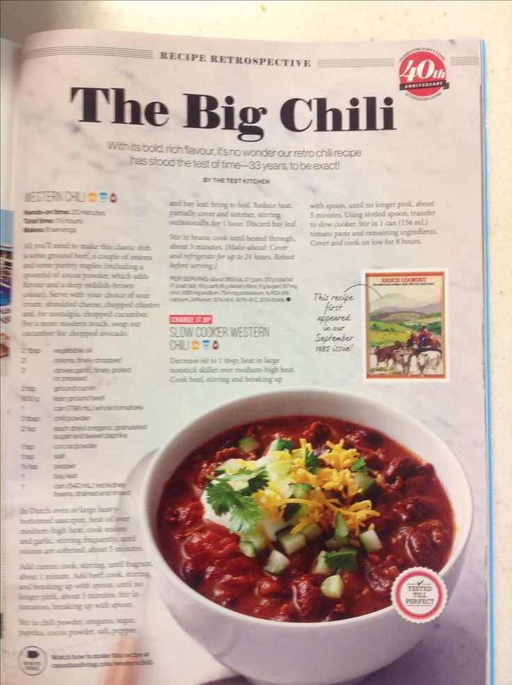 Western slow cooker chili