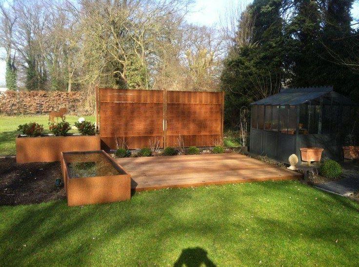 Die 25+ Besten Ideen Zu Terrassen Privatsphäre Auf Pinterest ... Tipps Sichtschutz Garten Privatsphare
