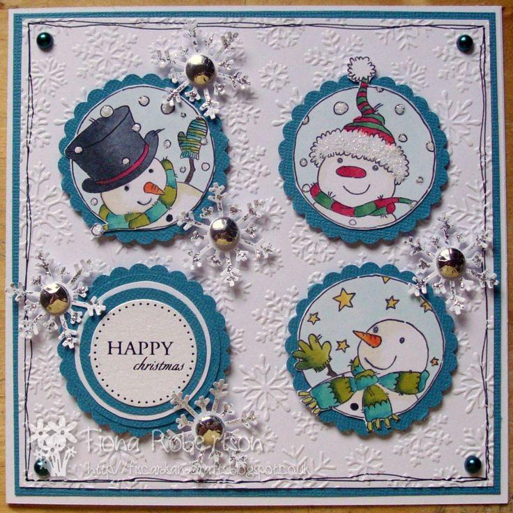 LOTV - Snowmen Trio by Fiona Robertson