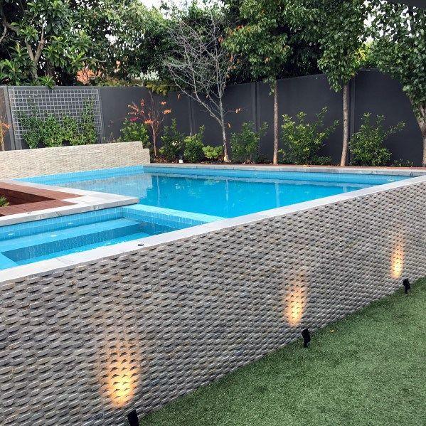 Top 50 Best Pool Fence Ideas Exterior Enclosure Designs Pool Fence Fence Design Modern Fence Design