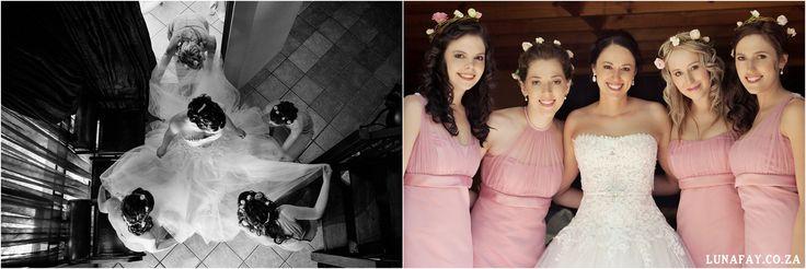 Wedding Photography Bride getting dressed www.lunafay.co.za