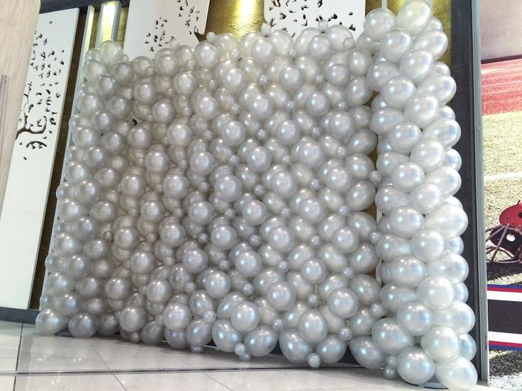 218 Best Balloon Wall Images On Pinterest