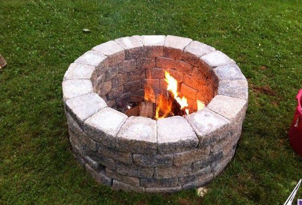Building a Simple DIY Fire Pit for Your Garden   Bridgman Furniture & Outdoor Living Blog