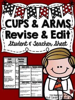 revising writing arms