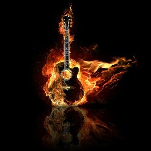 Flaming Guitar Music HD Desktop Wallpaper, Fire Wallpaper, Guitar  Wallpaper, Burn Wallpaper   Music No.