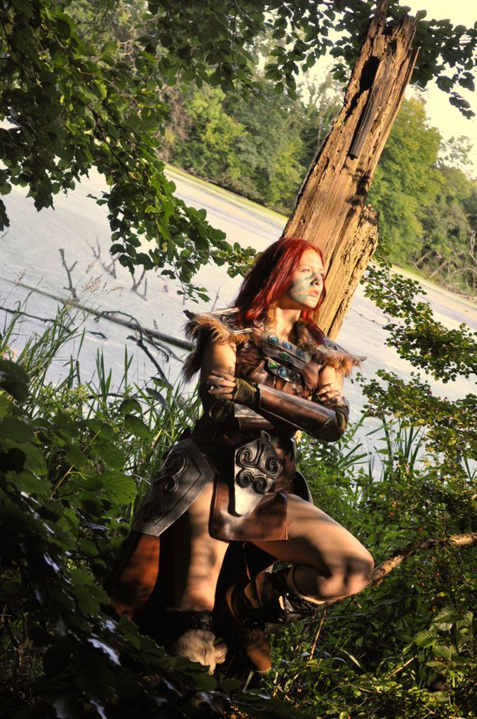 58 best aela the huntress images on pinterest skyrim