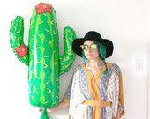 Cactus Tassel Balloon, Mexican Fiesta Party Decor, Photo Booth Prop, Taco Bar, Cinco de Mayo, Bachelorette Party Decorations, Western Cowboy