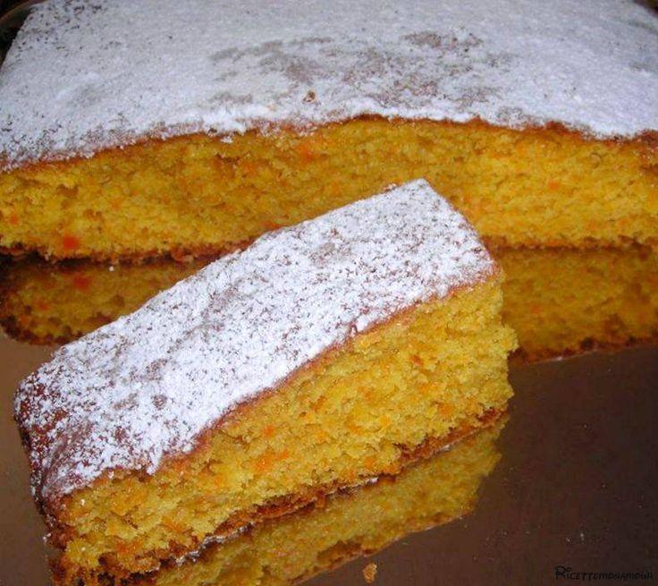 torta di carote soffice e soprattutto light