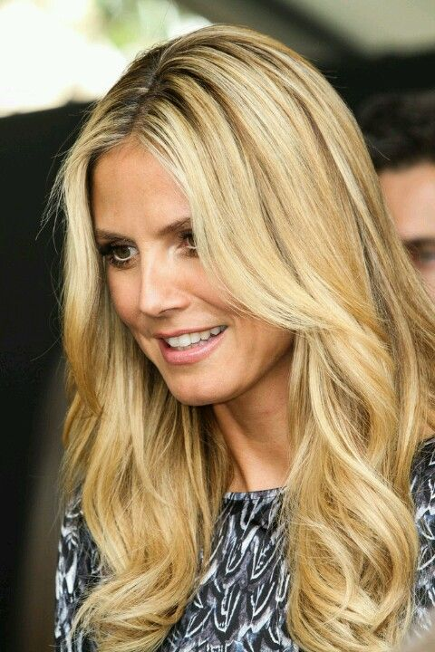 9 best images about Heidi Klum hair on Pinterest | Sexy ...