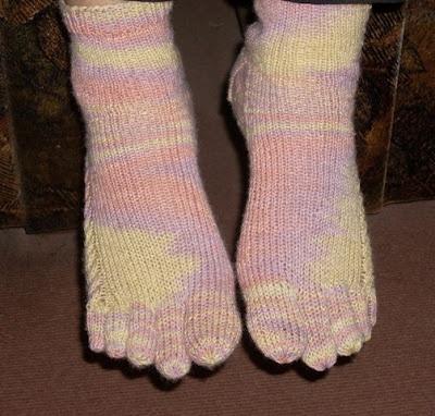 Toe socks!