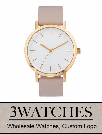 Thehorse Wholesale Watches. Custom Logo. Polished Rose Gold / Blush Leather. Visiting: http://www.3watches.com/horse-watch/