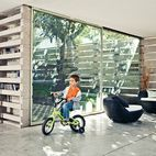 Pentimento's true versatility is revealed with each new tenant who inhabits the structure. As Nicolas demonstrates, the polished concrete...