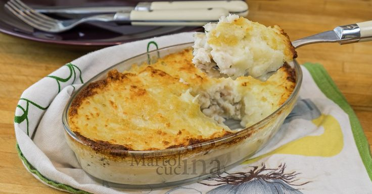 Sformato+di+pesce+e+patate,+ricetta+secondo+facile