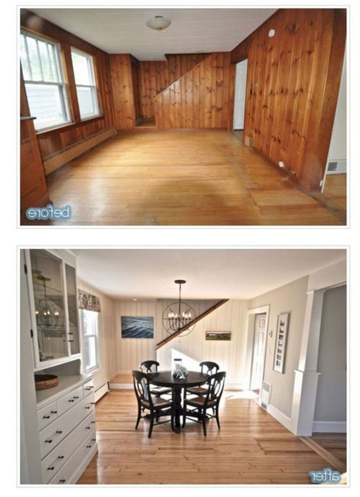 10 Amazing Smart Home Renovation Ideas On A Budget In 2020 Home Remodeling Home Remodeling Diy Paneling Makeover