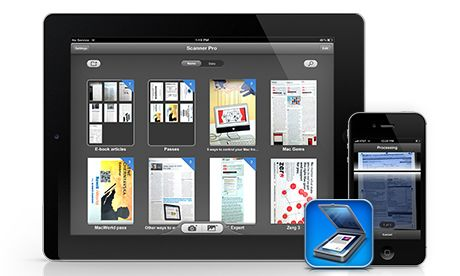 Scanner Pro turns iOS devices into scanners
