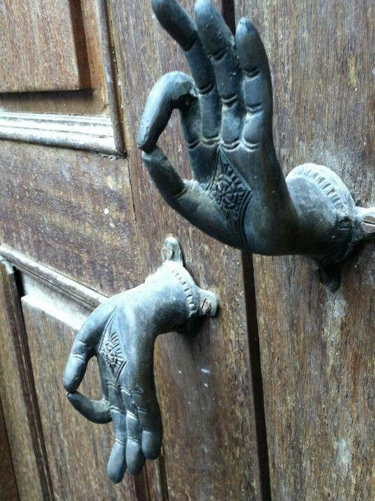 Doorknobs..awesome!!!