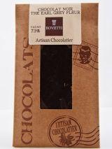 Bovetti 25g. Ciocolata neagra cu floare de Earl Grey