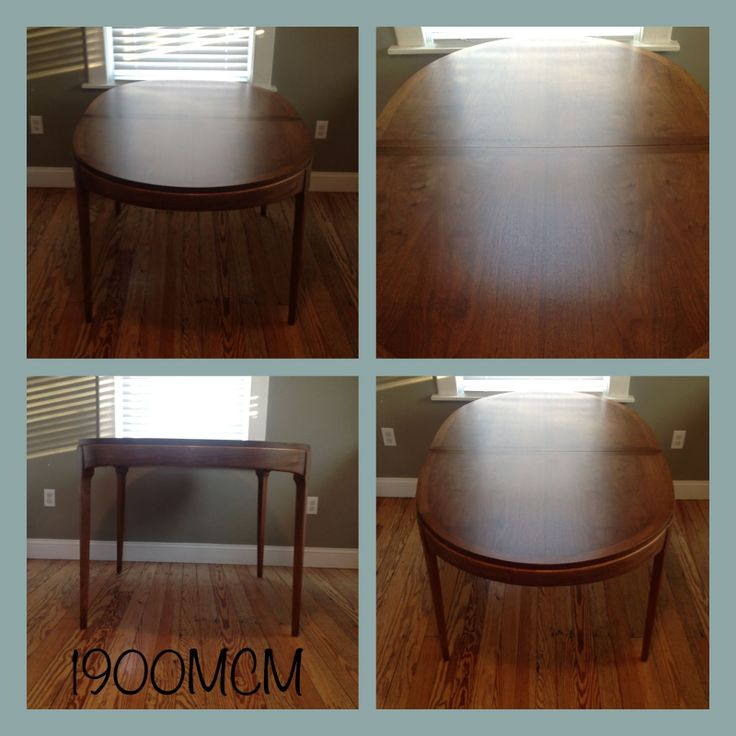Vintage Lane Oak U0026 Walnut Dining Table $375 Part 62