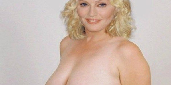 Madonna Thinks Her Topless Photo Will Encourage People To Vote For Hillary Clinton. Madonna hopes her topless photo will encourage people to vote for Hillary Clinton. Hours after Katy Perry urged her fans to register to vote by going completely naked in a Funny or Die video, Madonna followed suit by postinga revealing photo of her own on Twitter. Im voting naked with Katy Perry!! Vote for Hillary. She's the...