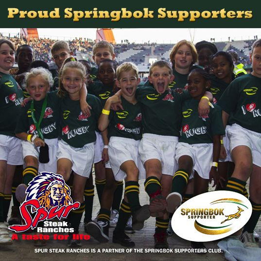 Proud Springbok Supporters - Flag Bearers | http://www.spur.co.za/about-us/event/flag-bearer-activations