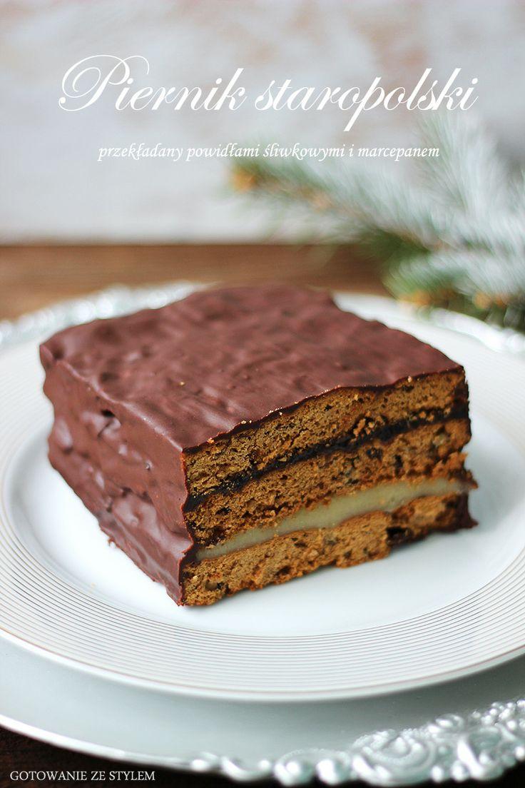 gingerbread cake   gotowanie ze stylem