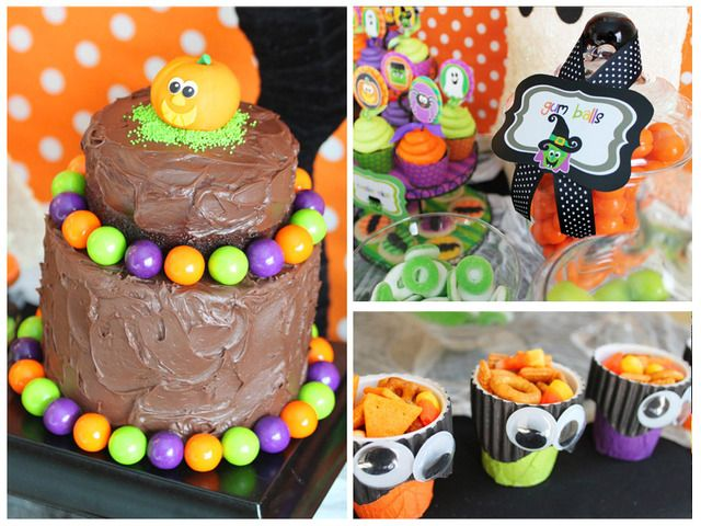 35 best Halloween Party Ideas images on Pinterest Monster party - kids halloween party ideas