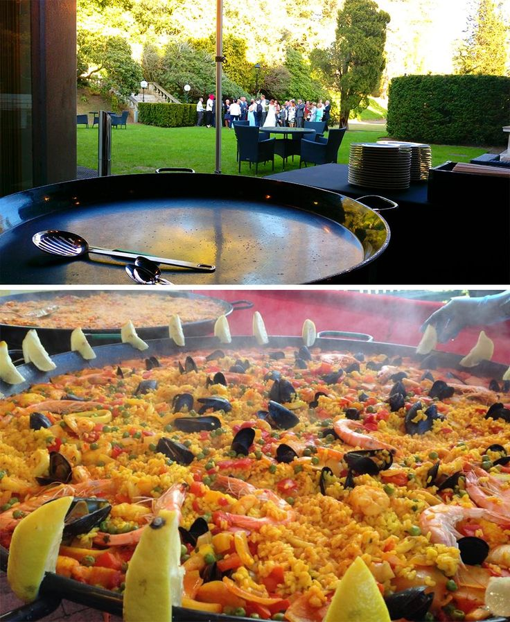 """Paella is a great spectacle, the huge sizzling paellas, the mouth-watering aromas that fill the air, and the guests love to watch it being cooked from start to finish,"" Andy Todd from Buon Apetito explains, ""We keep our prices realistic and offer freshly cooked, locally sought produce at affordable prices. Our motto is fresh, tasty and inexpensive!"""