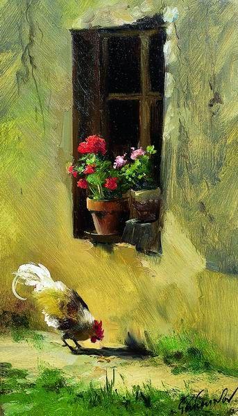 Pintura de Sergueï Toutounov