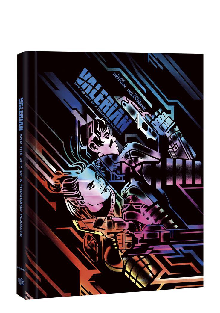 Valerian a město tisíce planet Mediabook (BLU-RAY FILM) Blu-Ray