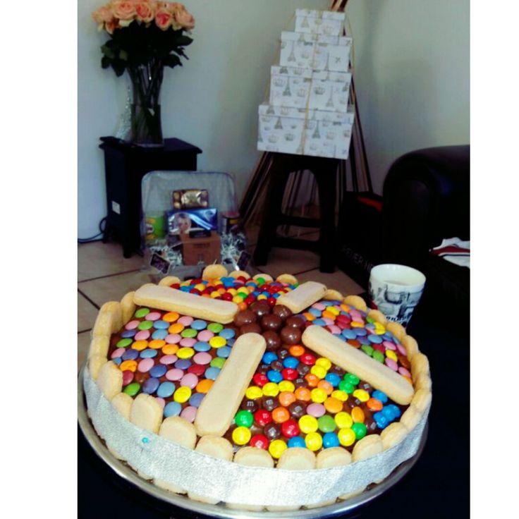 #chocolatecake #cadbury #momsbday #madebyme #colourful #familyrecipe #passeddown