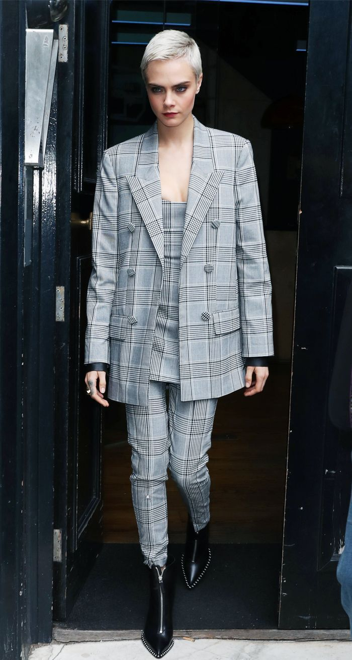 Thanks to Cara, We Now Want This Zara Suit Even More via @WhoWhatWearUK
