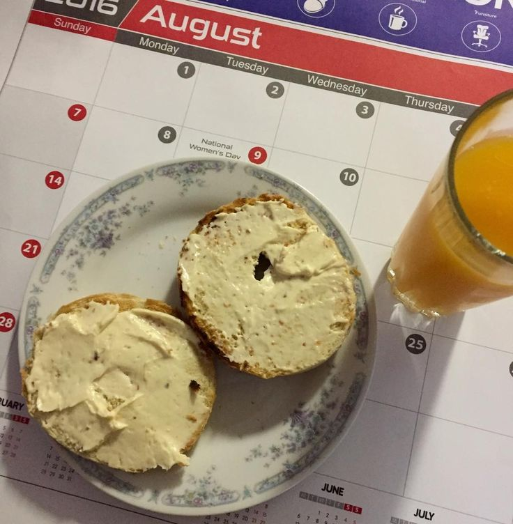 Well it is #August and this year is flying by. This month has started with 2 holidays so all great. #bagels